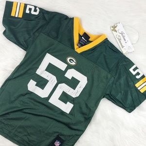 Green Bay Packers #52 Jersey